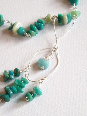 Amazonite Moonstone Necklace